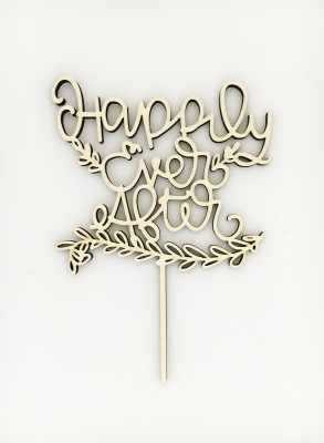 Cake topper Happily Ever After